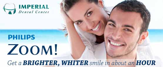Imperial Dental Center Teeth Whitening Sugar Land with logo