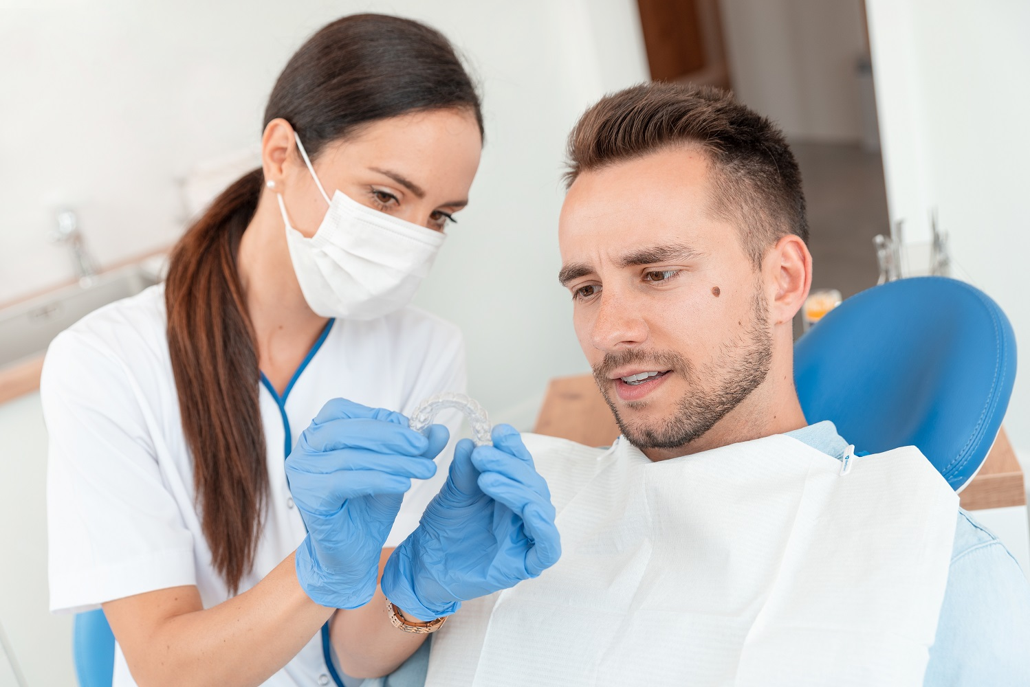 Night Guard-Mouthguard-Teeth Grinding-Bruxism-Dentist in Sugarland TX