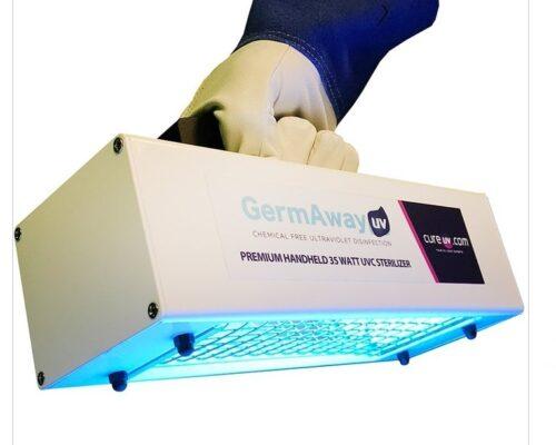 UVC Handheld Light Germ Away Imperial Dental Center Sugar Land Texas Dental Care COVID